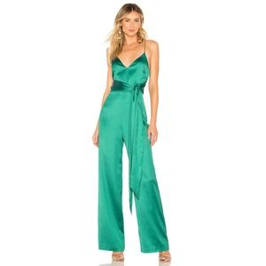 h:ours x Revolve Sienna Jumpsuit Hours Satin